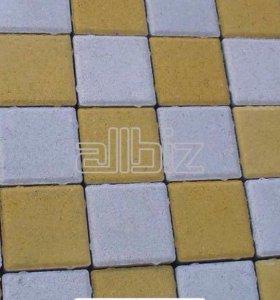 Тротуарная плитка сухопресованная