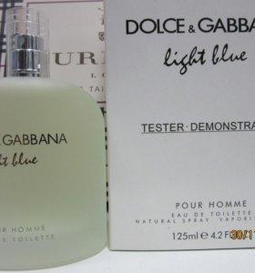 Dolce Gabbana light blue tester men