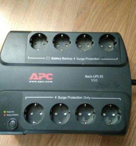 Продам бесперебойник APC back-UPS ES 550