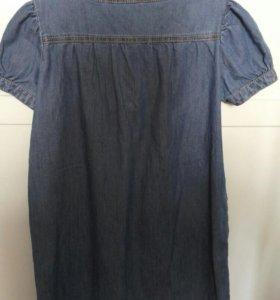 Платье джинсовое BENETTON