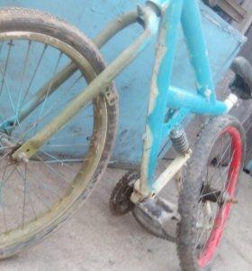 Велик(велосипед) на запчасти