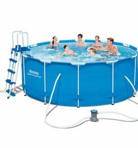 Каркасный бассейн Bestway 56420 (366 х 122 см)