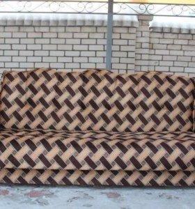 00023 новый диван книжка вилюр от фабрики
