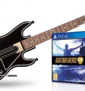 Guitar hero live для ps4