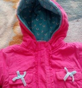 2 демисезонные курточки