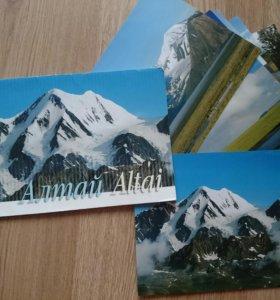 Фотооткрытки с видами Алтая