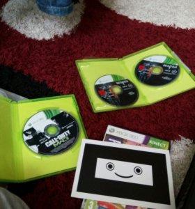 Xbox360(С играми:Battlefield3,Kinect,MW3