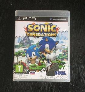 Диск для Sony PlayStation: SONIC GENERATIONS