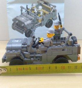 Конструктор совместим с lego
