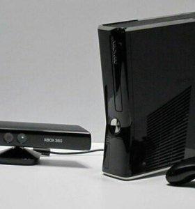 Xbox 360 игровая приставка с kinect