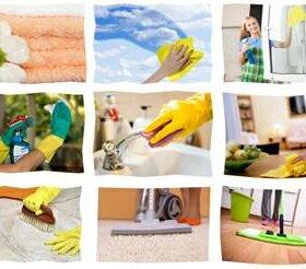 Уборка,мытье окон.