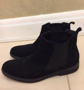 Ботинки Elle,демисезонные (замша).