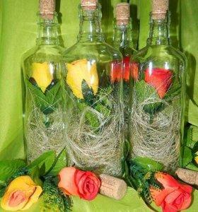 """Срочно """"Розы в бутылке"""""""