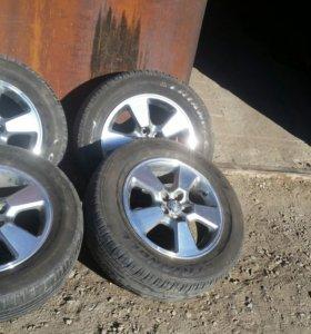 Колеса 195/65/15 на литье Toyota
