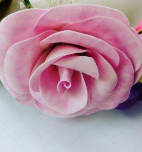Венок для фотосессий с огромными розами