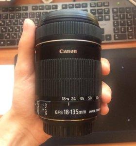 Объектив Canon 18-135 mm IS