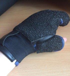 Кожанная перчатка для пулевой стрельбы