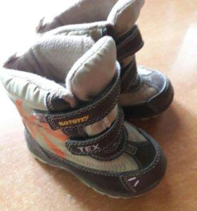 Ботинки оснние,размер 22