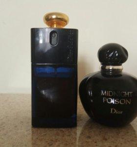 Dior Midnight Poison и Dior Addict edp