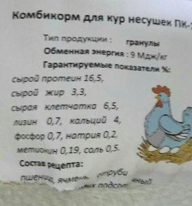 Комбикорм для кур несушек