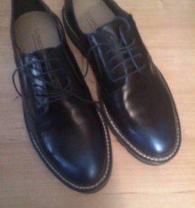 Туфли кожаные !