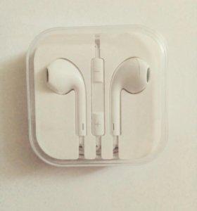 Наушники с управлением Iphone 5 Apple EarPods
