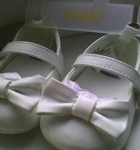 Новые пинетки-туфельки