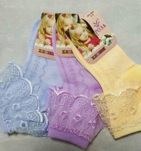 Новые носочки для девочки.