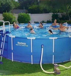 Каркасный бассейн Bestway 56438(457*122)