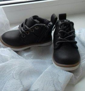Ботинки новые 19 размер