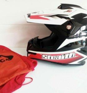 Кросс шлем Vega HD 210 Red