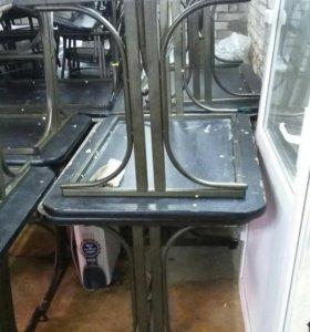 Продам столы по 1500р за шт. стулья по 300р шт.