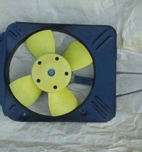 Вентилятор на ваз 2101,02,03,04,05,06,07.