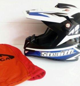 Кросс шлем Vega HD 210 Blue