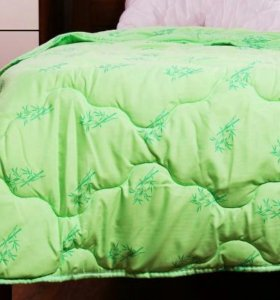 Летнее одеяло бамбуковое 1.5-спальное