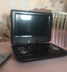 Портативный dvd + tv USB