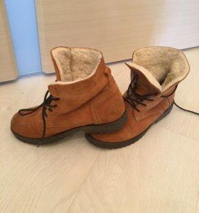 Ботинки на меху детские