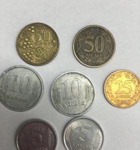 Монеты Молдавия и Приднестровья