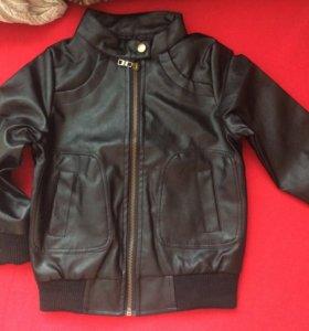 Кожаная курточка, новая!