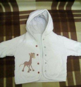 Детский утепленый костюм