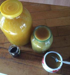 Натуральный пчелиный мёд