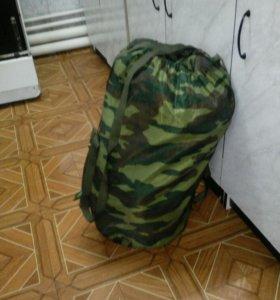 Спальный мешок военный