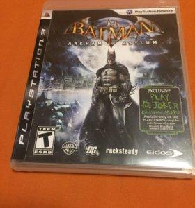 Игра batman arkham asylum PS3