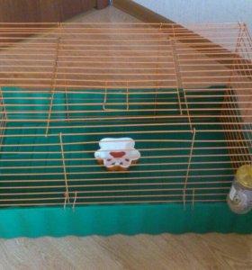 Клетка для кроликов/морских свинок