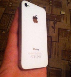 Срочно iPhone 4 (8gb) оригинал