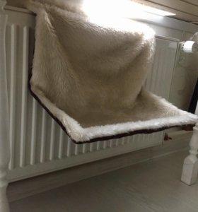 Гамак, лежак для кошек на радиатор