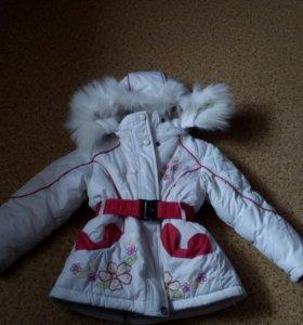 Куртка зимняя 92 р.