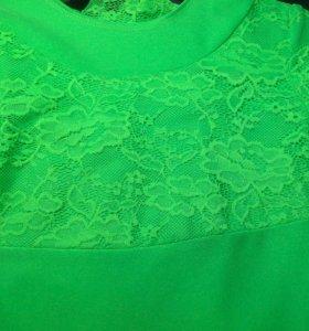 Платье рейтинговое (для бальных танцев) р.128-134
