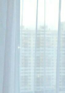 занавеска новая вуаль белая на шторной ленте
