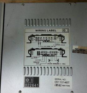 Продается 2х канальный усилитель Lanzar Vibe 211